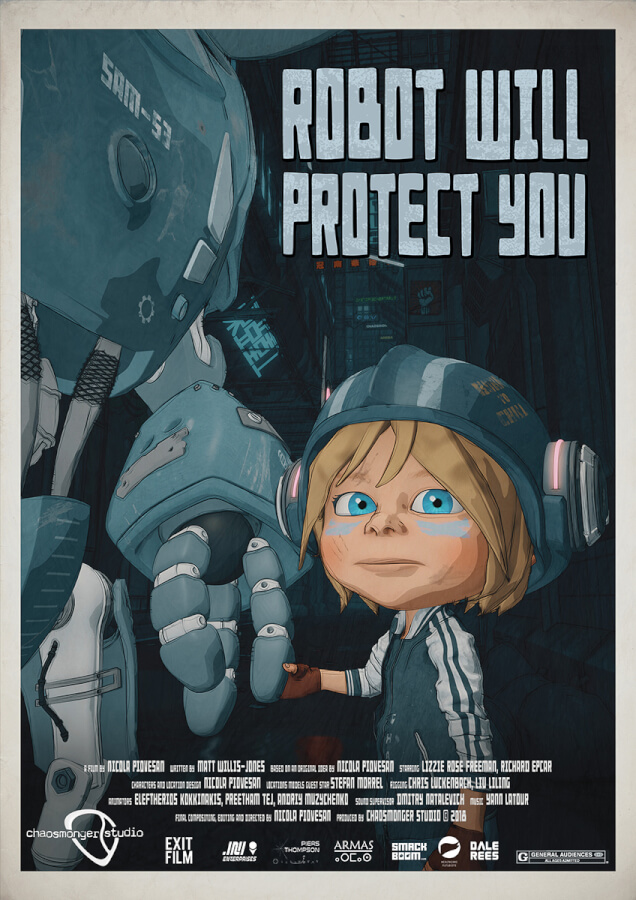 Athens Animfest 2019 - Robot will protect you